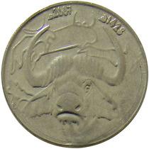 Argélia - 1 Dinar 2007 (búfalo)