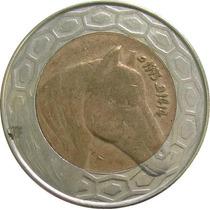 Argélia - 100 Dinares 1993 (bimetálica)