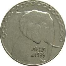 Argélia - 5 Dinares 1999 (elefante)