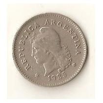 2051 - Argentina 10 Centavos 1918 - Niquel - Escassa
