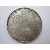 Bolivia Potosi Moeda Prata 8 Reales 1782 Pr