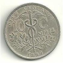 Bolívia - 10 Centavos 1899