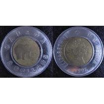 Canadá - 2 Dólares De 1.996 - Bimetálica.