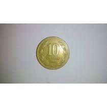 Moeda 10 Pesos Chile 1981!!!
