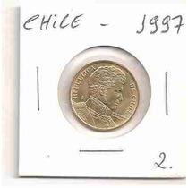 Ml-0726 - Moeda Do Chile - 10 Pesos - 1997