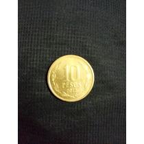 Moeda De 10 Pesos Chileno