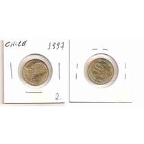 Ml-3515 Moeda Chile (10 Pesos) 20mm 1997