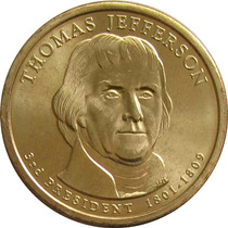 Estados Unidos - 1 Dolar 2007 (presidente Jefferson)