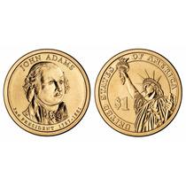 Moeda Estados Unidos 2007 1 Dolar John Adams