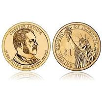 Moeda Estados Unidos 2012 1 Dolar Chester Arthur