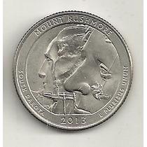25 Cents/quarter Dolar - Eua - Mount Rushmore - Letra P