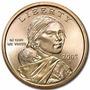 Moeda Estados Unidos 2005 1 Dolar American Sacagawea