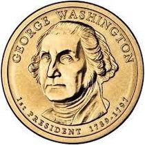 Moeda Estados Unidos 2007 1 Dolar George Washington
