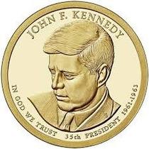 Nova Moeda Estados Unidos 2015 1 Dollar Kennedy Fc