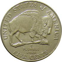 Estados Unidos - 5 Cents 2005 (bisão)
