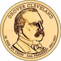 Moeda Estados Unidos 2012 1 Dolar Grover Cleveland