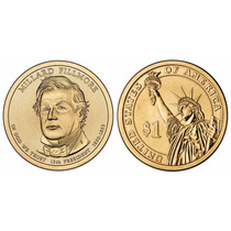 Moeda Estados Unidos 2010 1 Dolar Millard Fillmore
