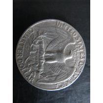 Moeda De 25 Cent (quarter Dollar) Dos Eua De 1974 - V