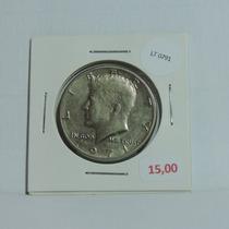 Moeda Eua Half Dollar 1971 Letra D Kennedy - Lt0791