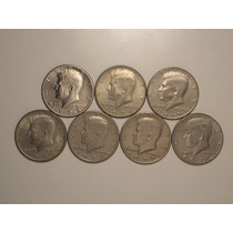 Usa) Half Dollar - 1971/71d /72/72d/73d/74d/76- Kennedy