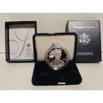American Silver Eagle 2004-w Proof One Dollar Prata .999