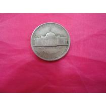Moeda De Prata Five Cent. Letra -p - . 1943. U.s.a -mbc