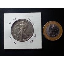 Espetacular Moeda Prata 900 Eua Half Dollar 1940 #mf005