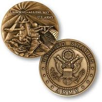 Medalha Exército Eua - Bronze - 44mm