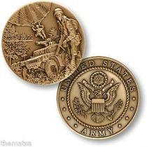 Medalha Exército Eua Fort Bragg - Bronze - 44mm