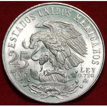 Moeda De Prata 25 Pesos - México