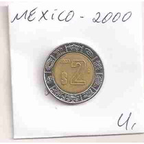 Ml-1660 Moeda México ($2) 23mm 2000