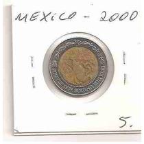 Ml-2802 Moeda México ($2) 22mm 2000