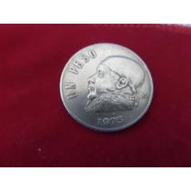 Moeda De 1 Peso Ano 1975 Dos Estados Unidos Meexicanos