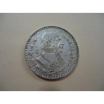 Moeda De Prata 100 -1 Peso .mexico 1961-mbc - Colecionar .