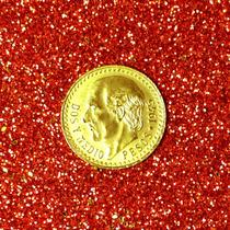 Moeda De 2,5 Pesos De Ouro Maciço México 0,900 Ano 1945 22k
