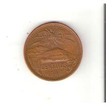 Linda Moeda Do México De 20 Centavos De 1944 - Vejam A Foto