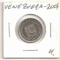 Ml-2885 Moeda Venezuela (50 Centímos) 20mm 2007