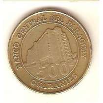 5792 - Paraguai - 500 Guaranis 1998