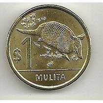 Uruguai - 1 Peso - Mulita - Animais - 2012 - F C