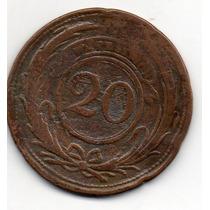 20 Centesimos De 1855