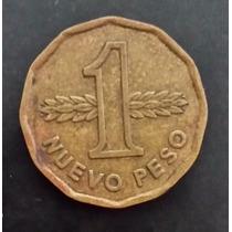 Moeda Uruguay Uruguai - 1 Um Nuevo Peso - Ano 1976