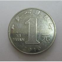 China: Moeda De 1 Yuan S/fc