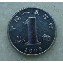 3278 - China Yi Jiao 1 2008, Inox, 19mm - Ver Fotos
