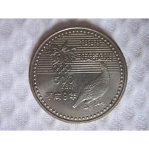 Moeda De 500 Yenes Comemorativa Olimpíada De Inverno Nagano