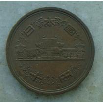 8999 - Moeda Japão 10 Yens Bronze, 23mm - Ver Fotos