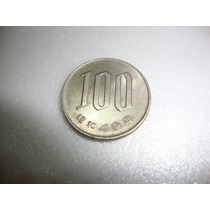 Moeda 100 Yane Japonesa Antiga