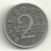 Sri Lanka (antigo Ceilão) - 2 Rupias 2006