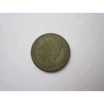 Holanda Moeda Prata 10 Cents 1901 Data Escassa