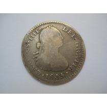 Peru Lima Moeda Prata 1 Real 1805
