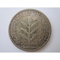 Palestina Prata 720 Moeda 100 Mils 1935